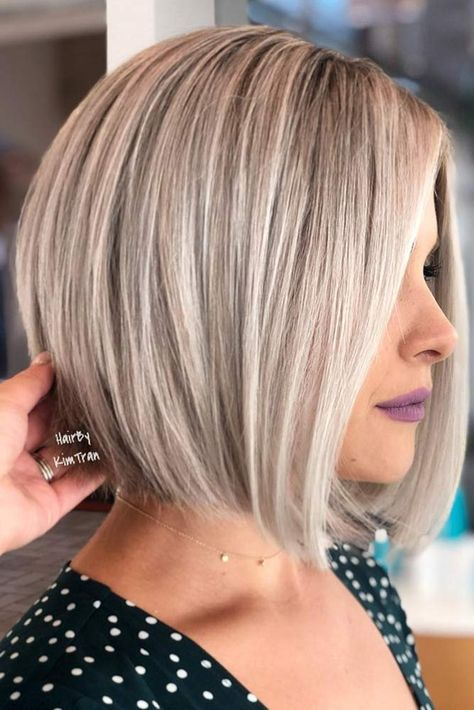 Classy Easy Bob Hairstyles With Straight Hair - Short Straight Hair Cuts