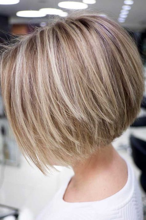 10 Easy Straight Bob Hairstyles with Beautiful Balayage - Bob Haircut 2020