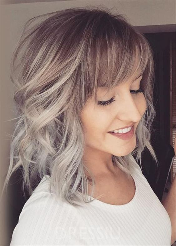 Layered Hairstyles With Bangs 2019 101