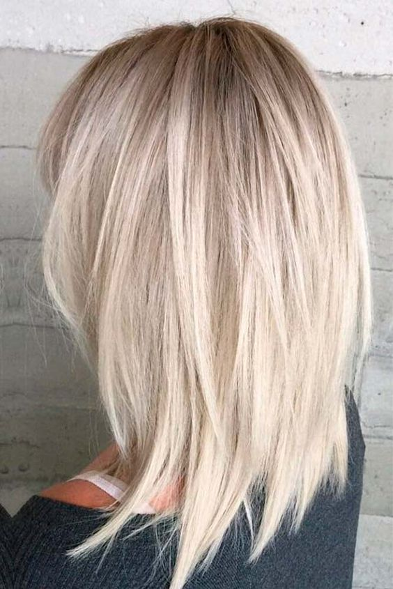 Shoulder Length Thick Hair Short Layered Haircuts 11