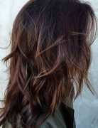 Different Types of Layered Haircuts - Best Medium Length Layered Hairstyle
