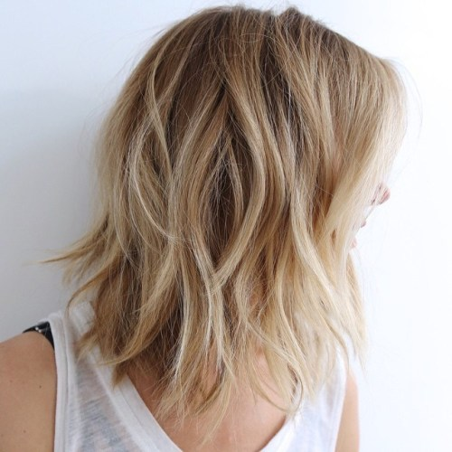Shoulder Length Hairstyles For Fine Hair 2020 37