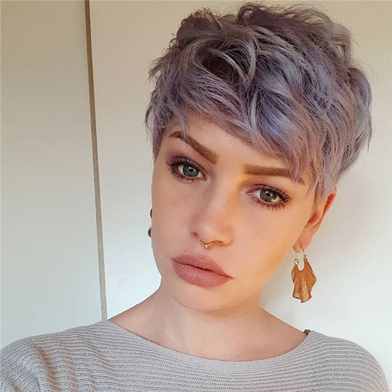 10 Edgy Pixie Cuts with Cute Color Twists , Short Hairstyles