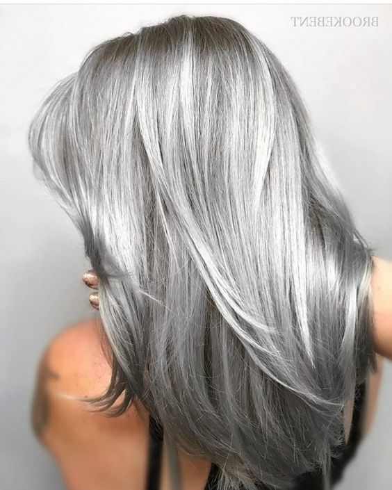 Pretty Gray Hair Styles - Stylish Hair Color Ideas