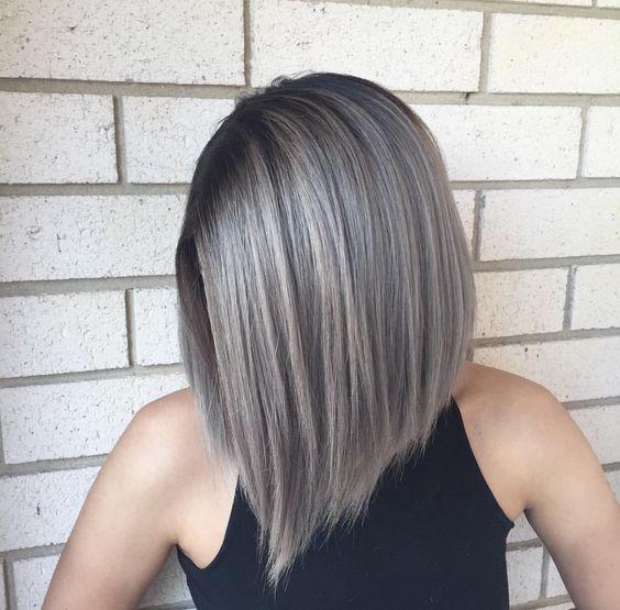 Pretty Gray Hair Styles - Stylish Hair Color Ideas