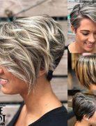 Trendy Balayage Short Hairstyles and Haircuts - Short Hair Color Ideas