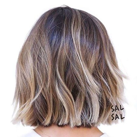 Trendy Balayage Short Hairstyles and Haircuts - Short Hair Color Ideas