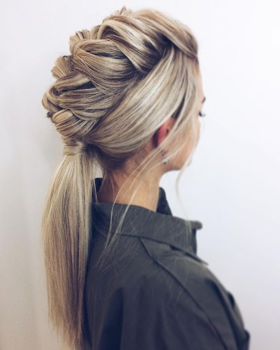 27 Gorgeous Wedding Hairstyles For Long Hair For 2020: 10 Trendy Braided Hairstyles In 'New' Blonde!