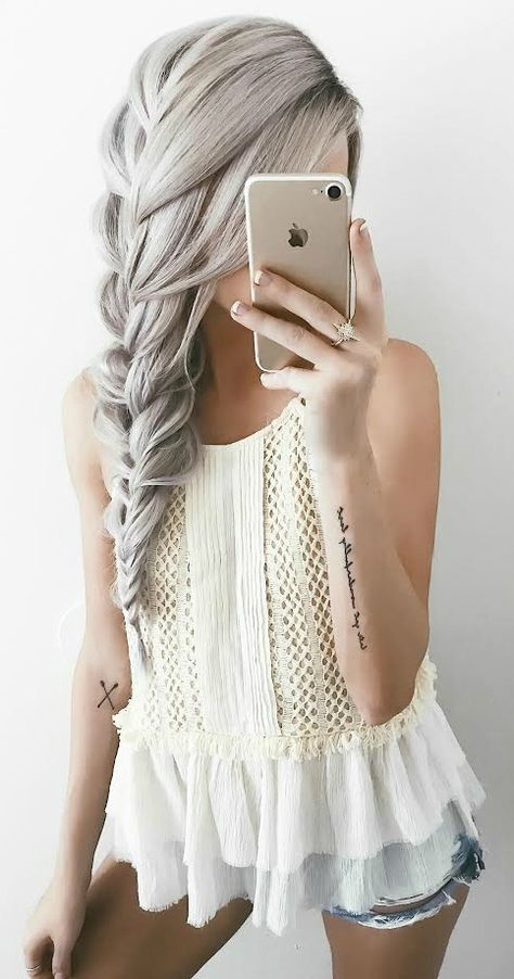 10 Trendy Braided Hairstyles in 'New' Blonde! - Hairstyle for Long Hair 2020