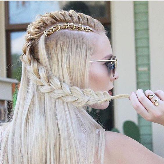 10 Trendy Braided Hairstyles In 'New' Blonde!