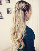 Trendy Braided Hairstyles for Medium Long Hair - Braided Hairstyle Ideas