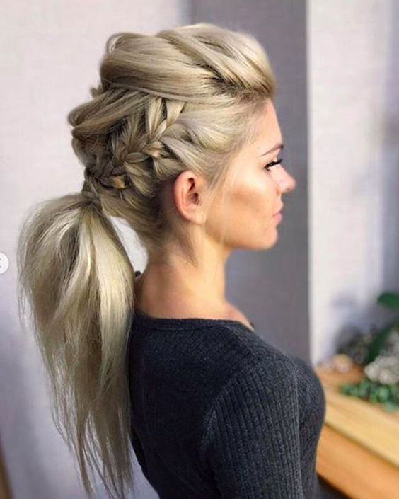 10 Trendy Braided Hairstyles In New Blonde Hairstyle