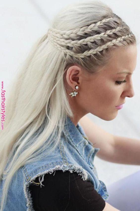 10 Modern Side Braid Hairstyles for Women   Braided Long ...