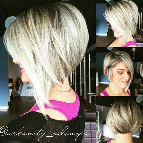 Exciting Asymmetrical Lob Haircuts for Women - Short Bob Hairstyle Trends