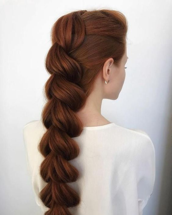 Cute Unique Braid Ponytail Hair Styles for Long Hair - Summer Long Hairstyle Ideas