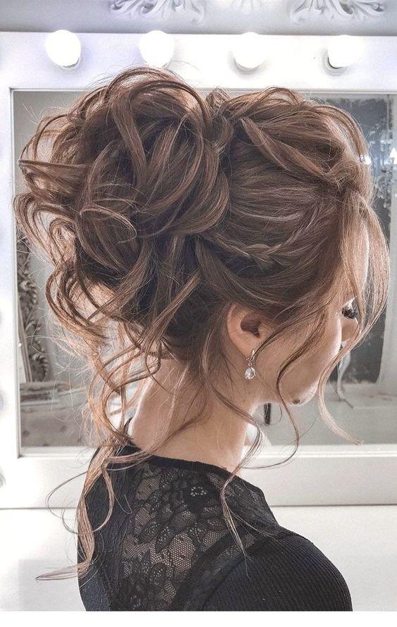 10 Wedding Updo Hairstyles for Women - Elegant Wedding ...