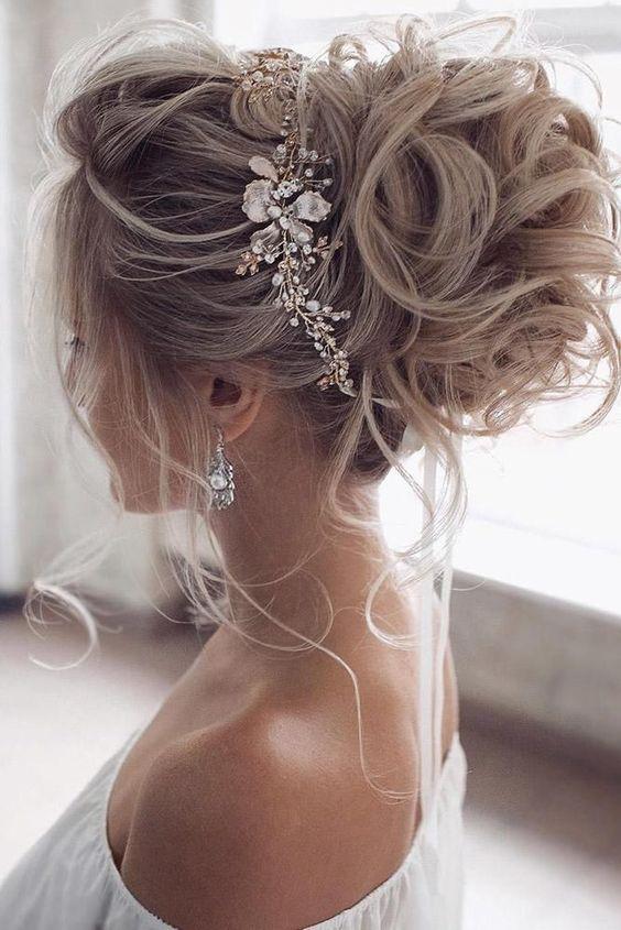 10 Wedding Updo Hairstyles For Women Elegant Wedding