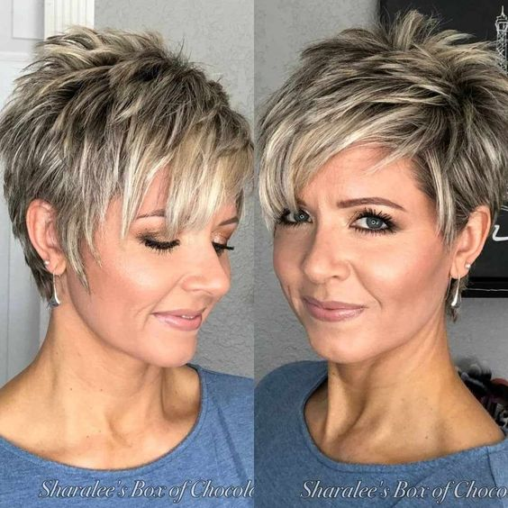 Simple Short Hairstyles for Straight Hair - Female Short Haircut Ideas