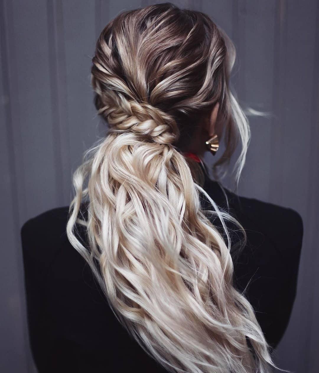 10 Cute Braided Hairstyles for Women & Girl   Long Braided ...