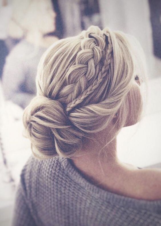 Beautiful Braided Updo Hairstyles For Women - Modern Updo Ideas