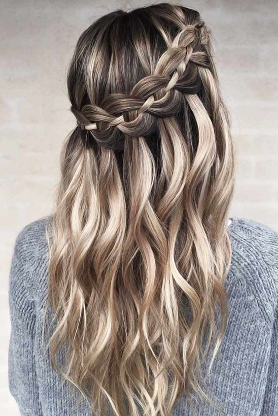 10 Cute Braided Hairstyles For Women Amp Girl Long Braided