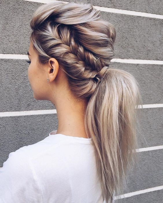 Cute Easy Ponytail Hairstyle Ideas for Women & Girl - Simple Ponytails