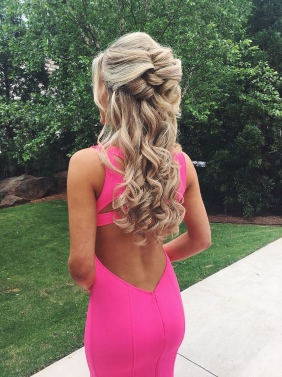 Pretty Easy Prom Hairstyles for Long Hair - Prom Long Hair Ideas