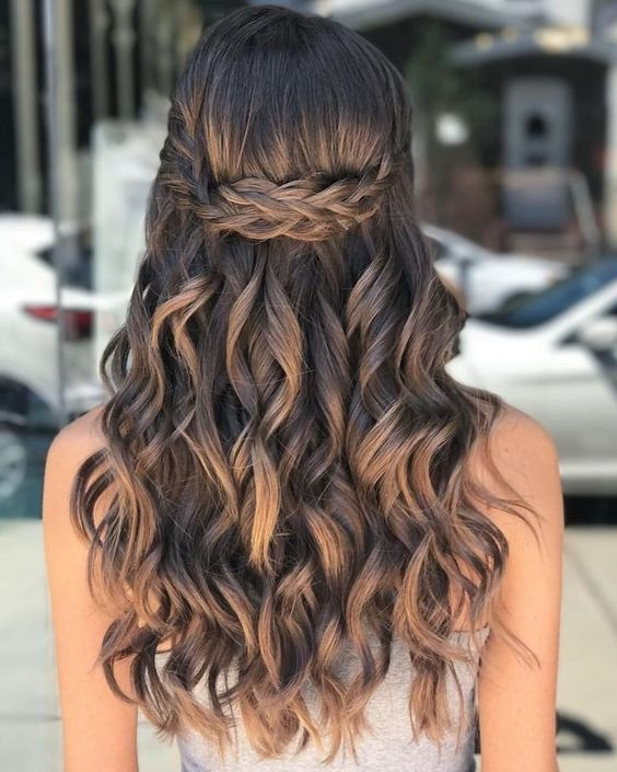 10 Pretty Easy Prom Hairstyles For Long Hair