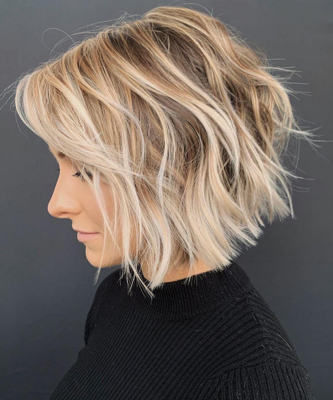 10 Stylish Short Wavy Bob Haircuts For Women Short Bob Haircut 2020 2021