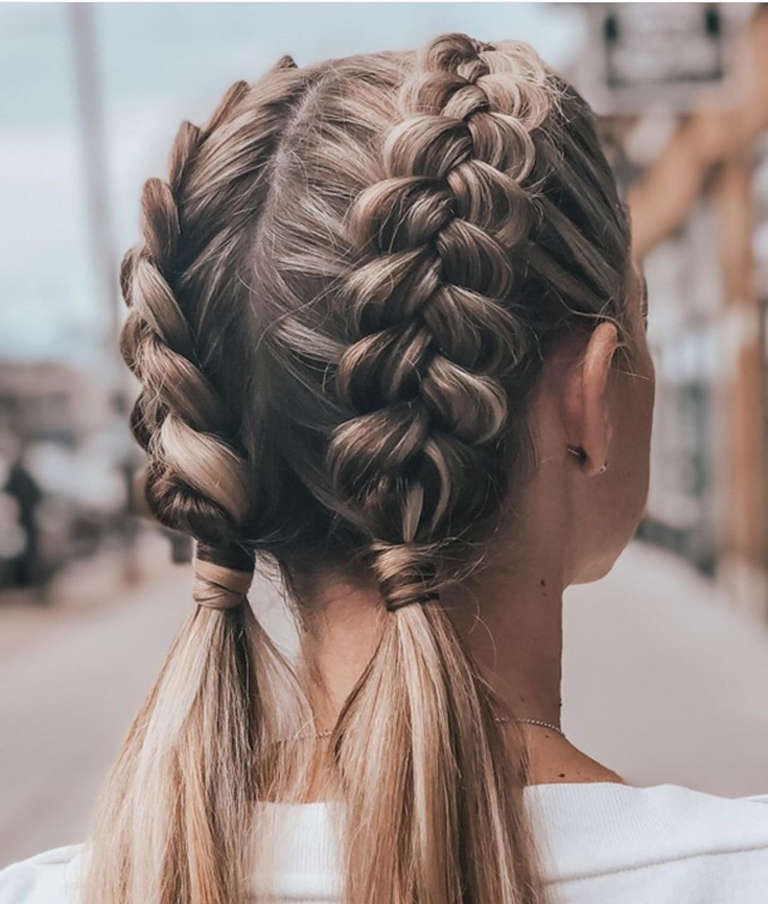 Trendy Braided Hairstyles in Summer - Ponytail Hairstyles for Long Hair