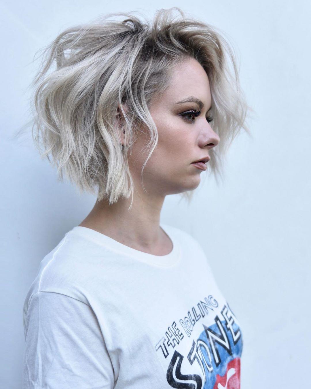 Cute Easy Bob Haircut Ideas for Short Hair - Women Short Bob Hairstyles