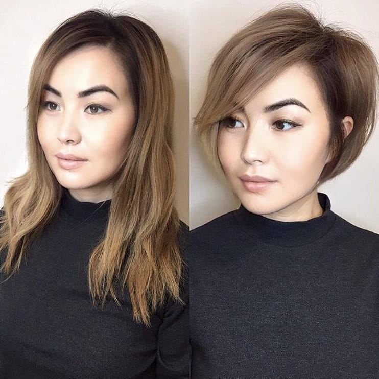 Cute Easy Bob Haircut Ideas for Short Hair - Women Short Bob Hairstyles
