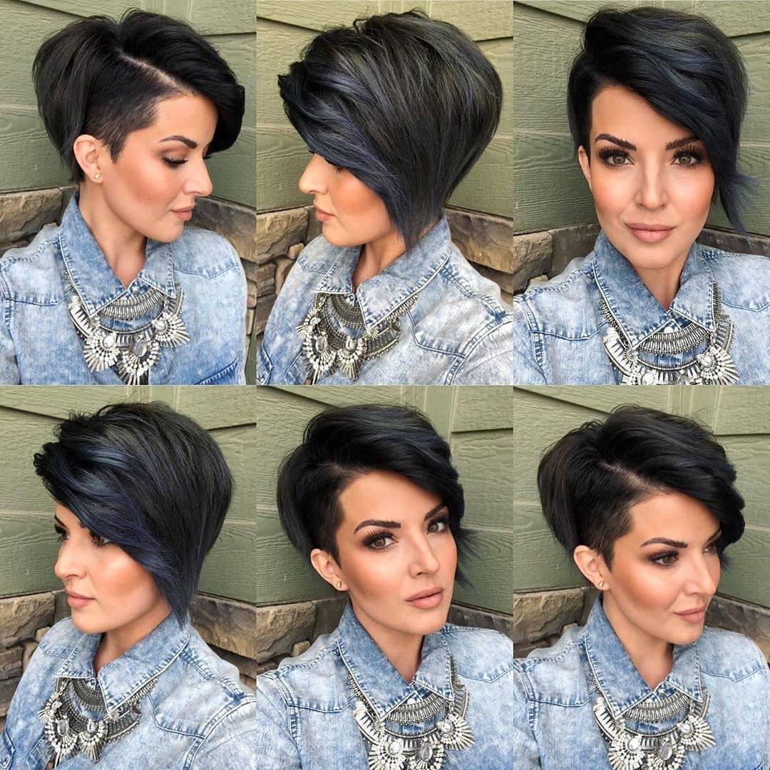 Stilvoller einfacher Pixie-Haarschnitt für Frauen - kurze Pixie-Frisur-Ideen