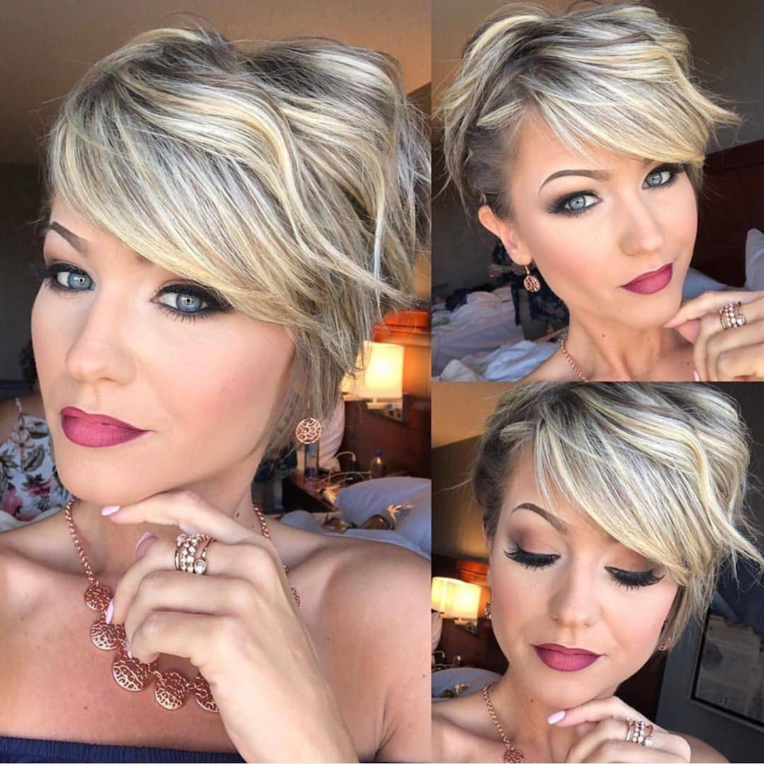 Trendy Short Pixie Haircuts - Cool Pixie Hairstyle for Women Short Hair