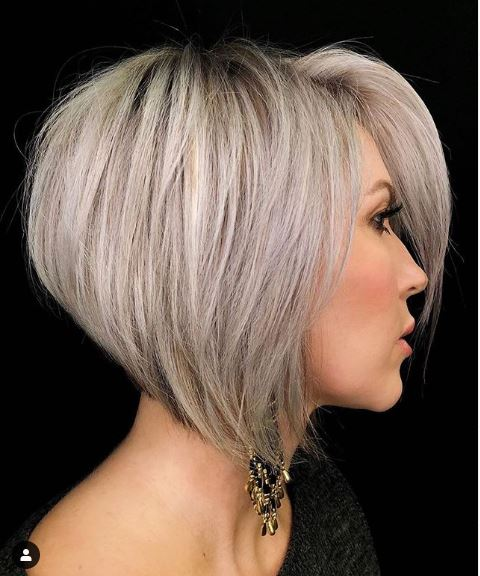Pretty Short Haircuts for Thick Hair - Women Short Hairstyle Ideas