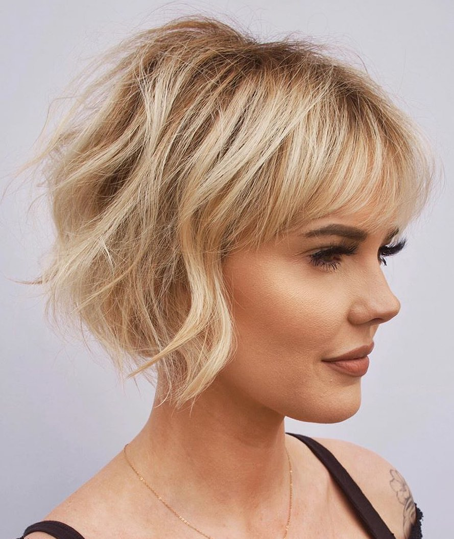 Short Bob Hair Color Ideas - Easy Short Bob Haircuts for Women