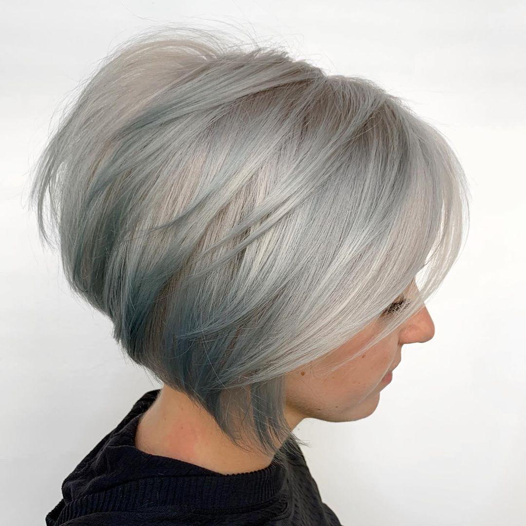 Kurze Bob Haarfarbe Ideen - Einfache kurze Bob Haarschnitte für Frauen