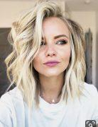 Flattering Medium Length Haircuts with Wavy Hair - Women Medium Wavy Hairstyles