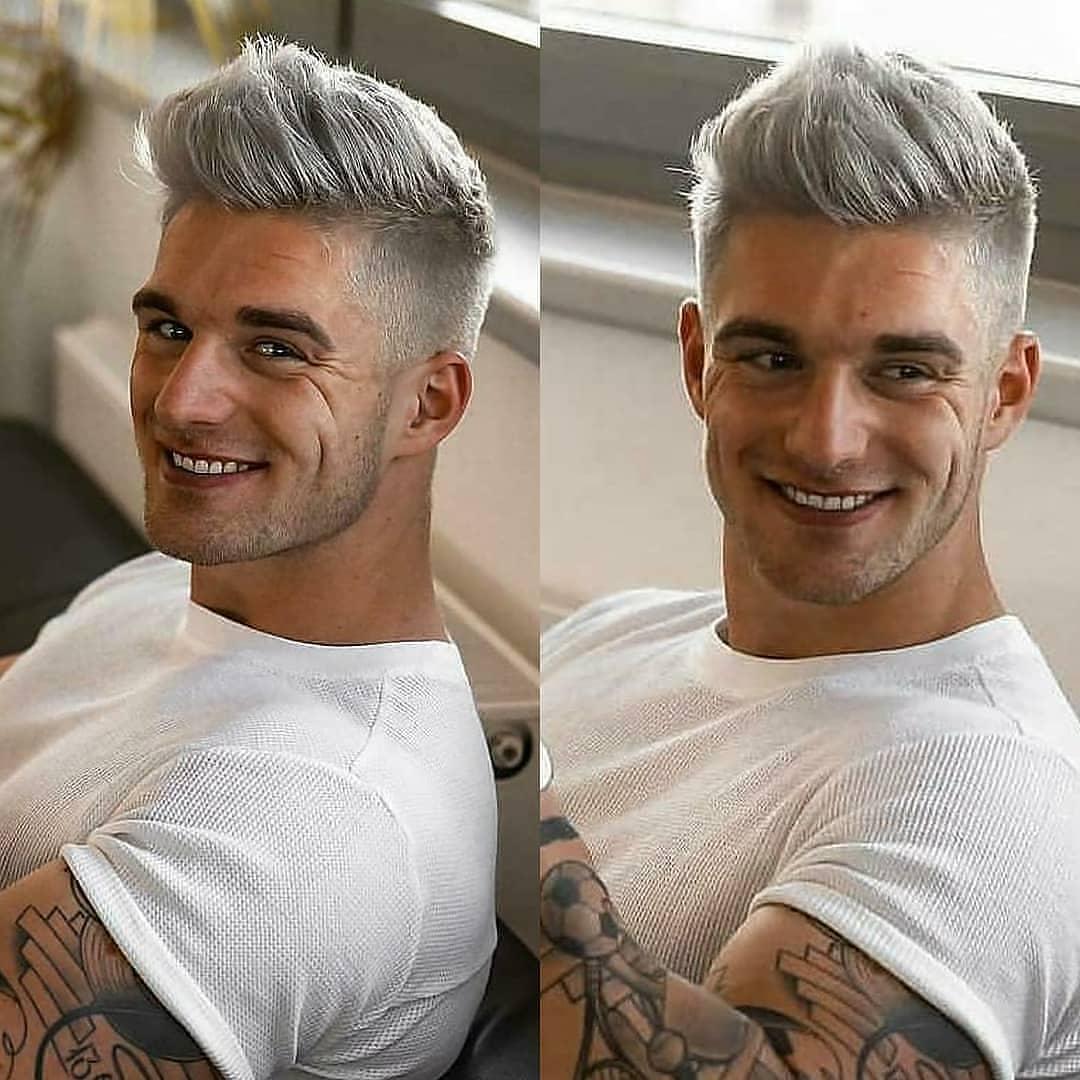 Men Haircut Trends for Short Hair - Men Short Hairstyles