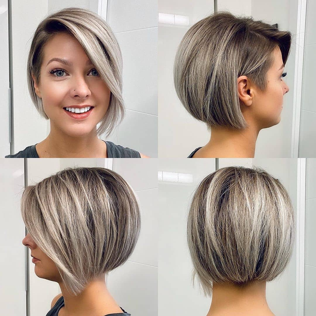 Office Short Hairstyle Ideas for Women - Quick and Simple Short Haircuts