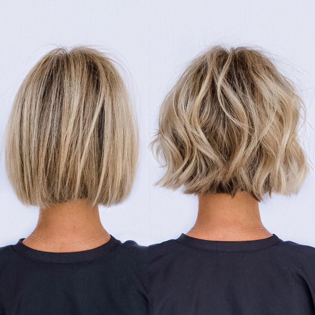 Einfache kurze Bob Cut Ideen - Frauen Bob Frisuren und Haarschnitte im Jahr 2021