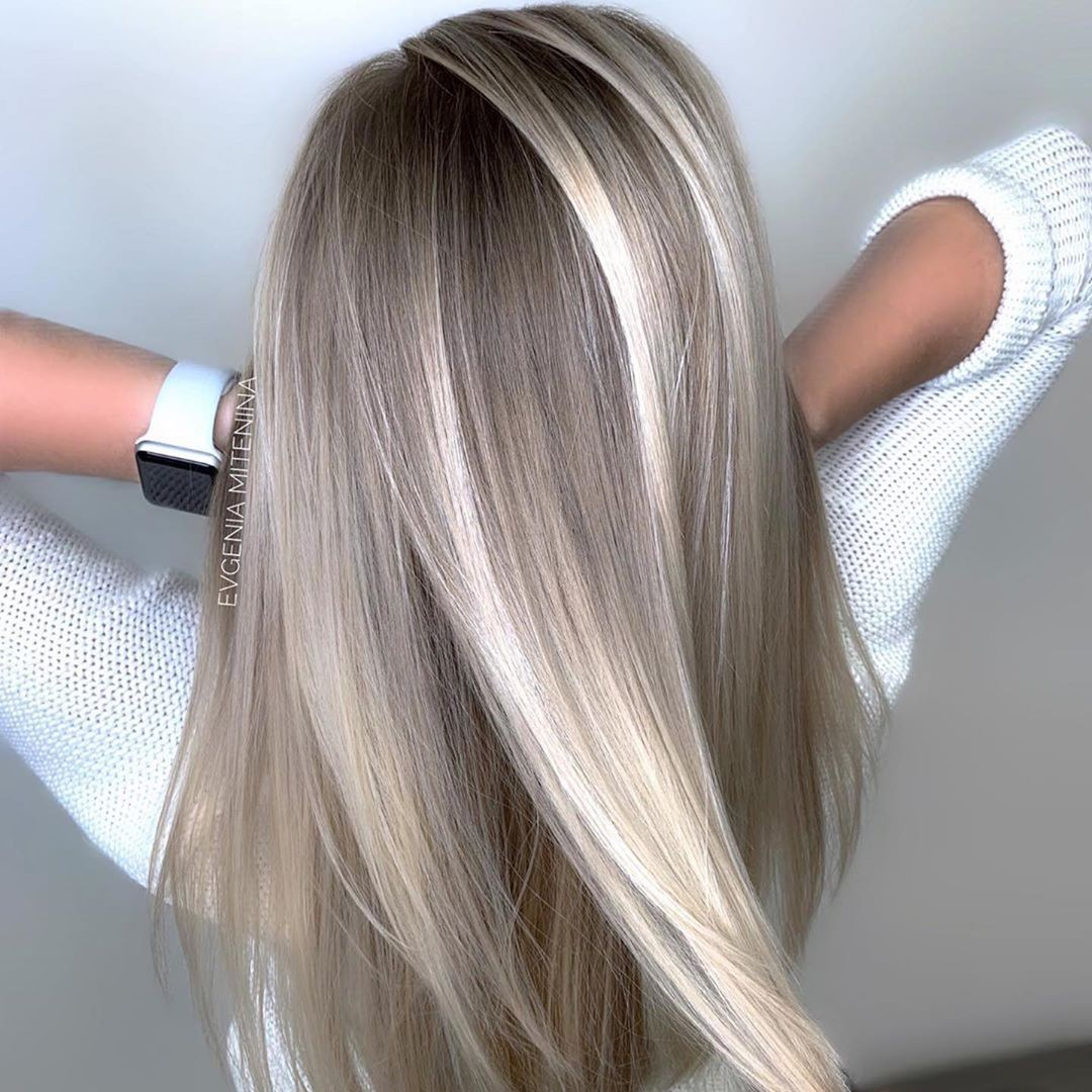 Female Long Hairstyles with Color Trends - Women Long Hair Styles and Haircuts in 2021