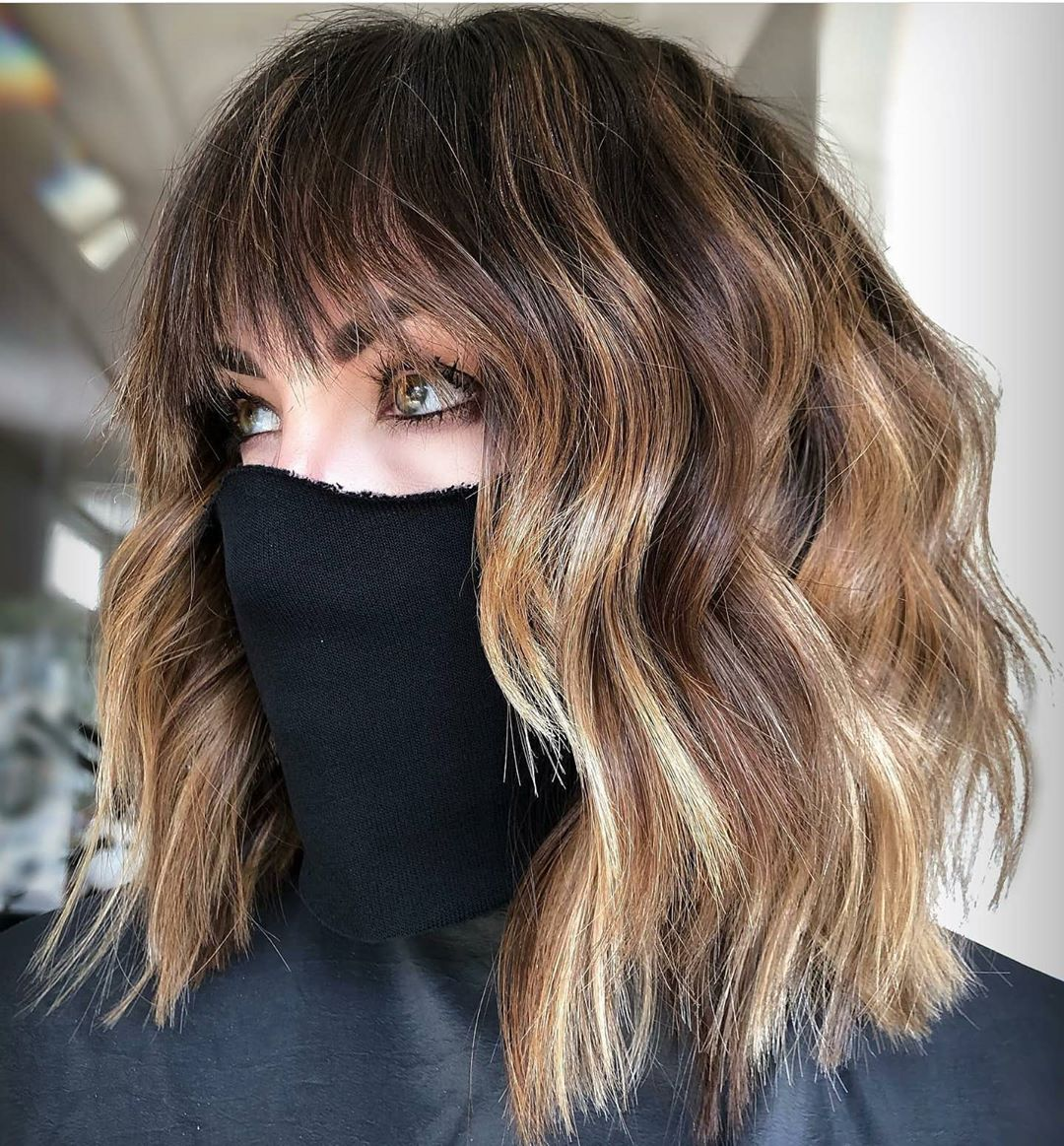 10 lob hairstyles for thick wavy hair  shoulder length