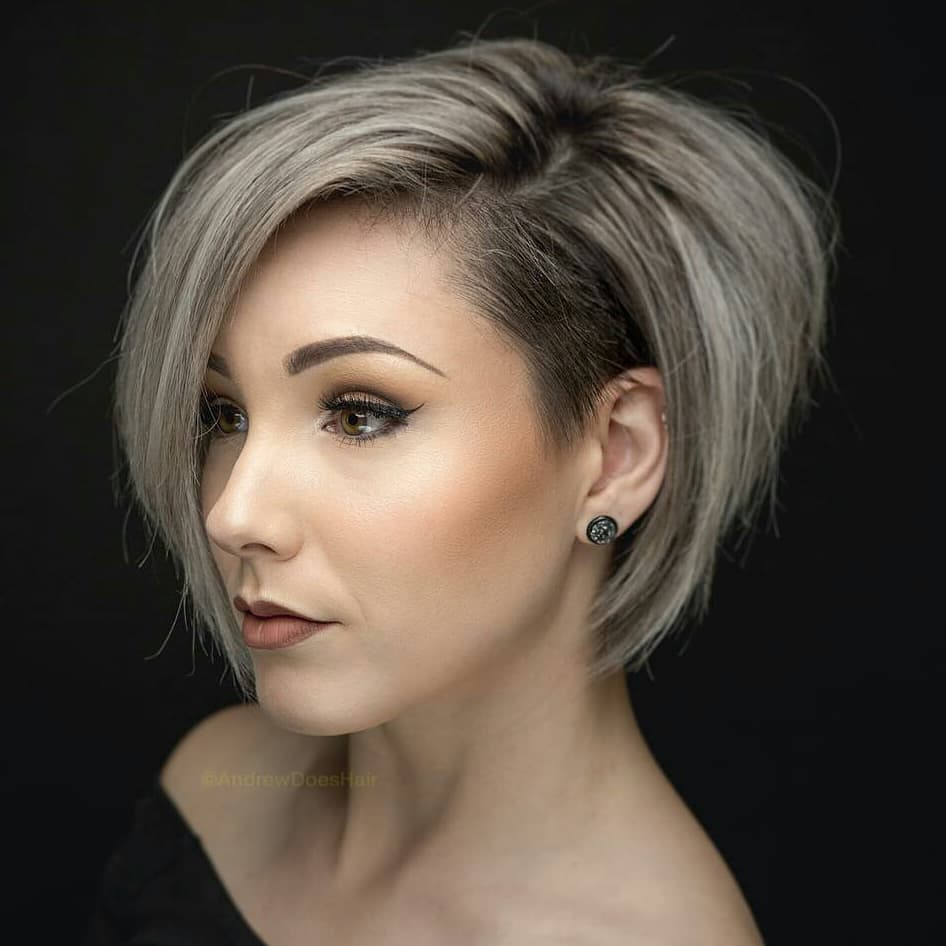 short angled bob blonde hair 10 stylish simple short hair cuts for ladies easy short