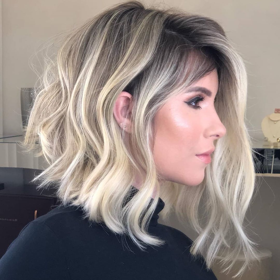 Medium Length Hairstyle and Color - Shoulder Length Hairstyles and Hair Cuts in 2021 - PoPular ...