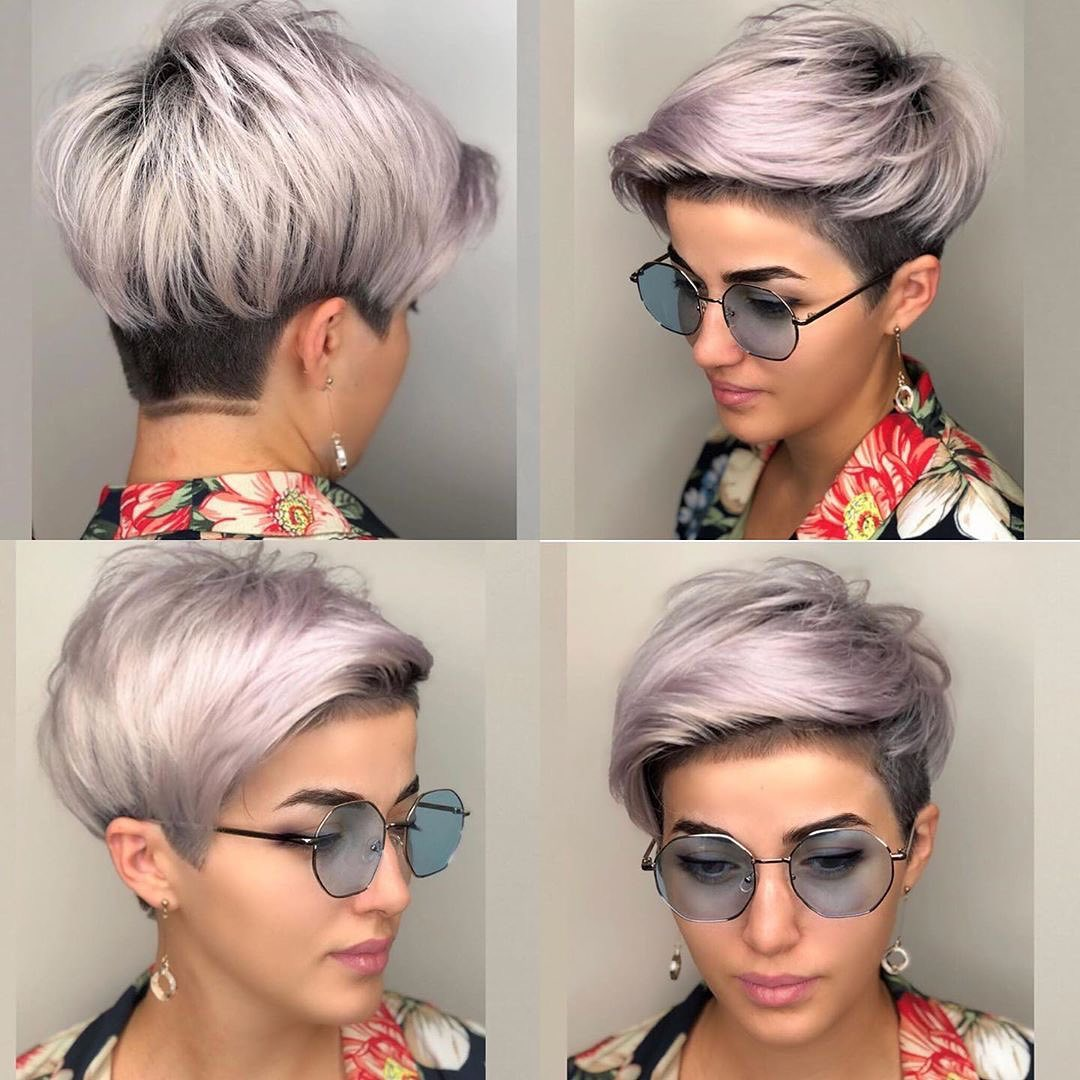 Stylish Short Pixie Cut and Color 2021 - Women Short Haircut Ideas 2021 - PoPular Haircuts