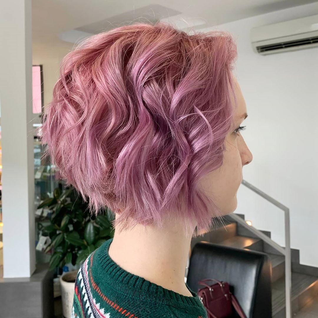 2021 Trending Short Hairstyle Ideas - Women Short Bob Hairstyles & Hair Cuts