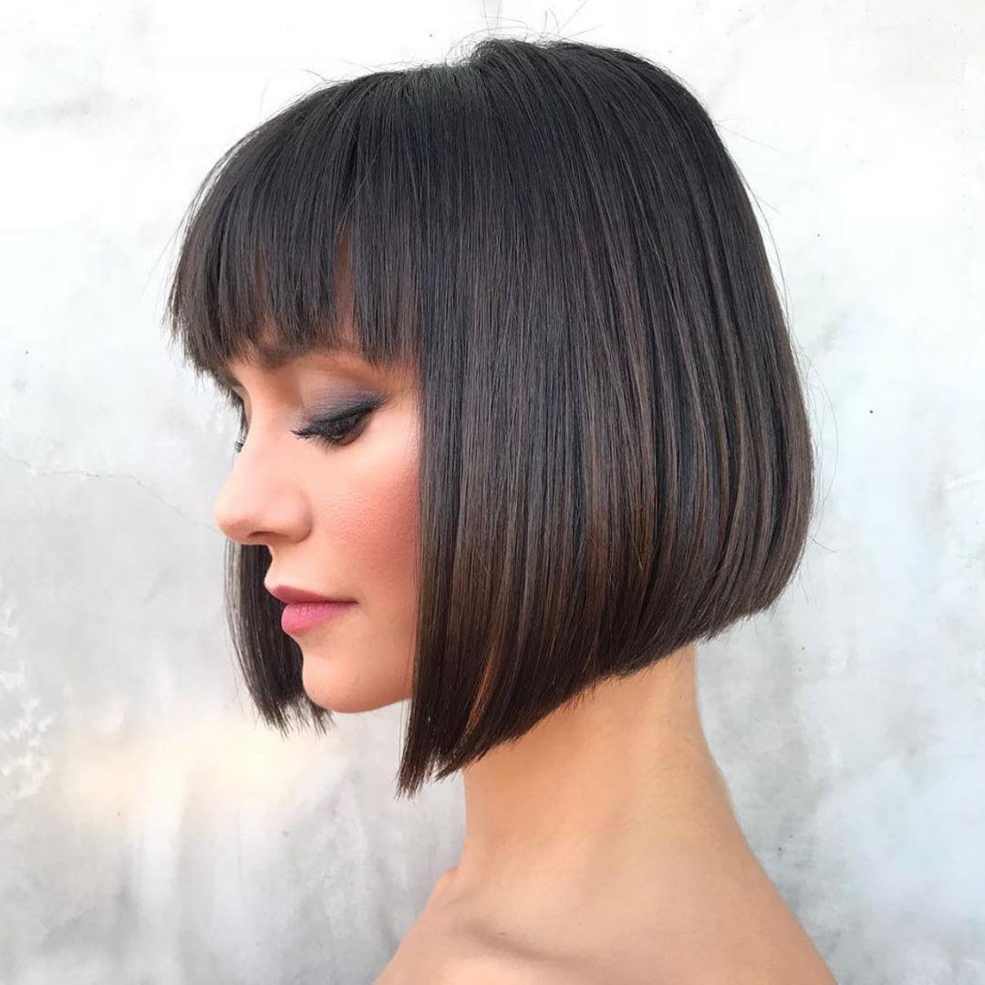 10 Kurzhaarschnitt-Designs für glattes Haar - Color Me Trendy!
