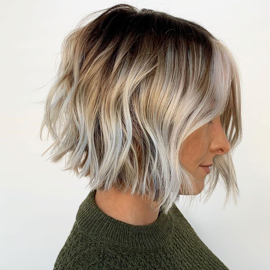 10 Hairstyles for Thick Hair - New Cuts & Amazing Colors