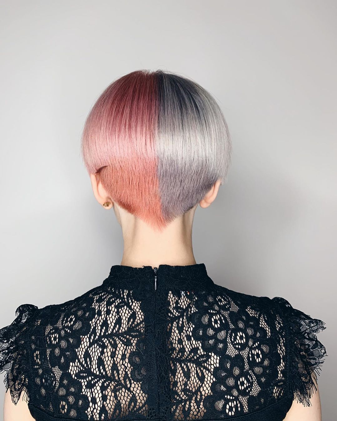 Chic Short Hairstyle with Color - Women Pixie Hairstyles & Haircuts 2021